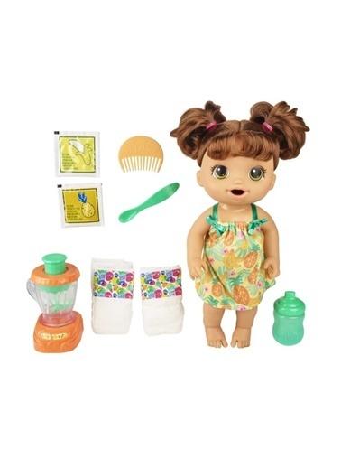 Hasbro Baby Alive Kumral Bebeğim Ve Sihirli Mikseri E6944 Renkli